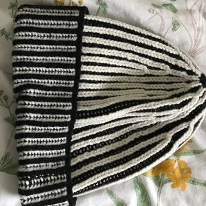 Free People one size striped winter hat